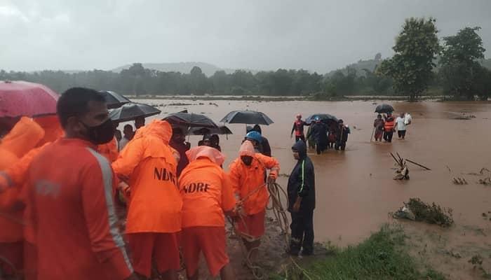 महाराष्ट्र में बारिश का कहर: रायगढ़ में लैंडस्लाइड में 36 की मौत, 30 लोग फंसे