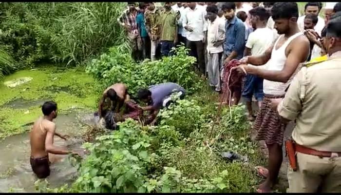 Gonda News : तालाब में उफनती मिली युवक की लाश, कल शाम से था लापता, जांच जारी