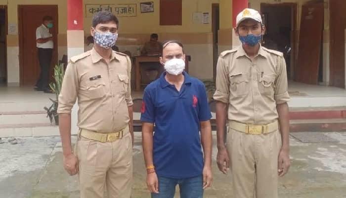 गोरखपुर : नाबालिग से दुष्कर्म करने वाला फरार आरोपी गिरफ्तार