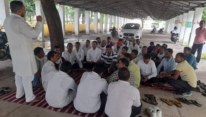 ग्रामीण सफाई कर्मचारी संघ ने गोंडा के ब्लॉकों के संयोजक मंडल के साथ की बैठक, समस्याओं को लेकर  जिला पंचायत राज अधिकारी को अल्टीमेटम