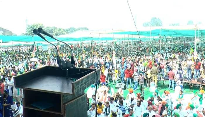 'Muzaffarnagar Kisan Mahapanchayat': टिकैत ने कहा- पूरे देश में होगा महापंचायत,  हमें देश बिकने से बचाना